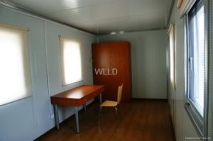 Container House Made Labor Camp Miner Camp with Kitchen and Shower pictures & photos