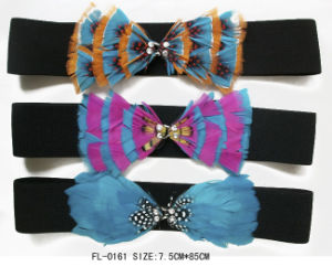 Feather Elastic Belts Fl-0161