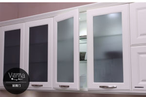 PVC Vinyl Wrap Kitchen Cabinet Door (zc-064) pictures & photos