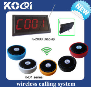 CE Approved 433.92MHz Wireless Call System for Waiter pictures & photos