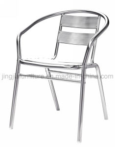 Aluminum Patio Outdoor Garden Public Hotel Restaurant Chair (JJ-A01)