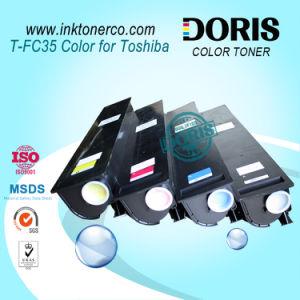 Compatible Toner Cartridge Japan Color Copier Tfc35 T-FC35 Yellow for Toshiba E Studio 2500c 3500c 3510c pictures & photos