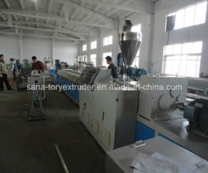 CE Approved Plastic PVC Profile Extrusion Machine Line pictures & photos