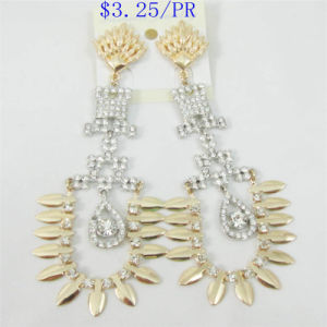 New Item Unique Glass Stones Fashion Jewellery Earring