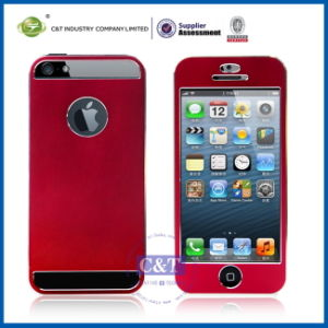 Front and Back Aluminum Cell Case for iPhone 5s pictures & photos