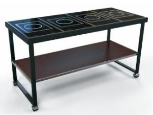 Modern Buffet Table/Induction Chafing Dish Station (DE31) pictures & photos