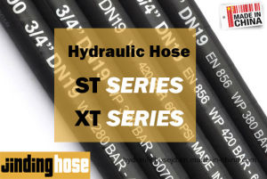 High Pressure Flexible Rubber Hydraulic Hose R1 at/1sn