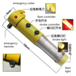 Multi-Funtional Emergency Flash Light for Auto-Use 19cm*3cm