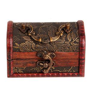 Antique Wooden Decorative Box, Wooden Treasure Chest, pictures & photos