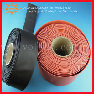 PE Flexible Heat Shrinkable Insulation Sleeve Heat Shrink Tube Busbar pictures & photos