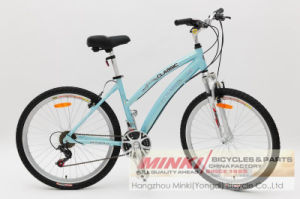 26′′ Lady′s Hybrid Bicycle (ANB10PR-2661) pictures & photos