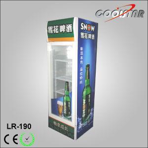Single Door Upright Beverage Cooler Beer Refrigerated Showcase pictures & photos