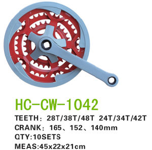 Colorful Chainwheel Crank (CW-1042) pictures & photos
