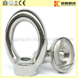 Stainless Steel Lifting Forged Eye Bolt and Nut DIN582 pictures & photos