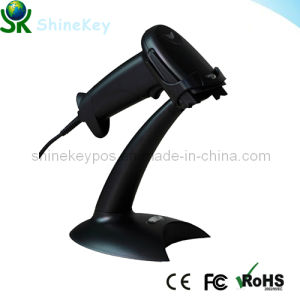 Automatic Barcode Reader or Laser Scanner with Stand (SK 2100) pictures & photos