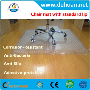PVC Chair Wood Floor Protection Mat 120*90cm pictures & photos