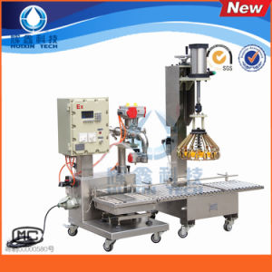 Automatic Bottle Filling Machine with Capping pictures & photos