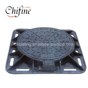 Customized Cast Ductile Iron Manhole Cover for Sale pictures & photos