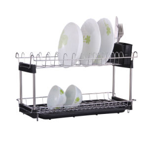 Two Tiers Chrome Plated Display Rack China Supplier