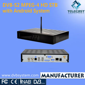 DVB-S2 MPEG-4 HD STB with Android System