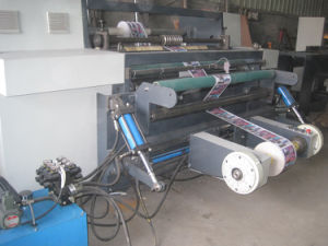 Rtfq-1300bc Automatic Jumbol PVC BOPP Roll Slitting Cutting Machine pictures & photos