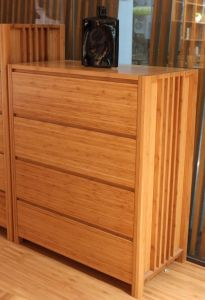 Customize Bamboo Four Chest of Drawer / Drawer Dresser pictures & photos