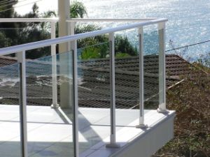 Indoor Glass Stair Railings (PR-1019) pictures & photos