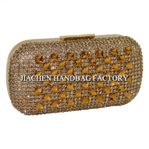 Ladies Party Bag with Crystal Decoration (C798)