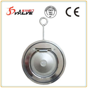 Stainless Steel Wafer Type Single Flap Check Valve pictures & photos