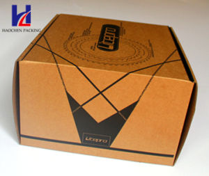 Environmental Recycled Folding Rigid Corrugated Carton Packaging Shoes Box pictures & photos