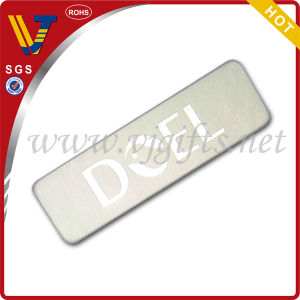 Customized Rectangle Shaped Sticker with Adhesive on The Computer