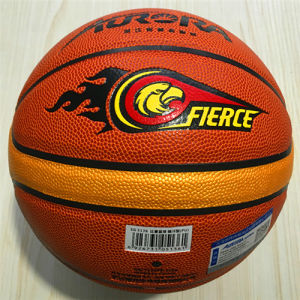 Basketball Customized New Indoor Outdoor Cement Floor Wear-Resisting Adults Game Entertainment Quality Cheap 12pieces PU Basketball pictures & photos