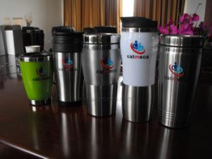 Custom Printing Staff Metal Travel Mug pictures & photos