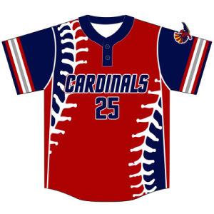 Custom Dye Sublimation Baseball Tee Shirt for Teams pictures & photos