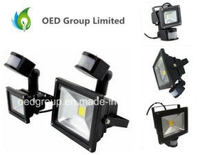 Fast Delivery PIR 50W Warm White LED Floodlight 85-265V Motion Sensor Day/Night Sensor pictures & photos