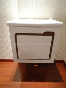 Modern Style Mirrored Bathroom Cabinet (BLS-17337) pictures & photos