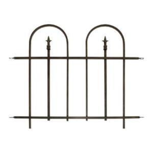 Bronze Garden Fence