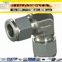 Asme SA479 Stainless Steel Compression Fitting/ Double Ferrule Union Elbow pictures & photos