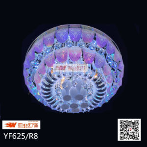 2015 New Modle Glass Crystal Ceiling Lamp with MP3 (YF625/R8)