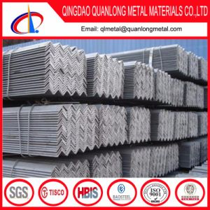 201 Bright Finished Stainless Steel Angle pictures & photos