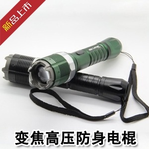 8810 Dimmable Stun Gun Defibrillator Riot Flashlight pictures & photos