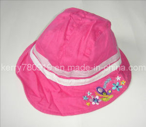 Child Fashion Floral Cotton Hat (DH-LH61621) pictures & photos