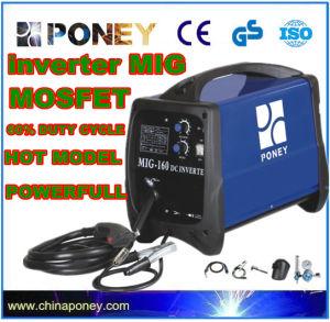 DC Inverter Mosfet MIG/Mag CO2 Gas/No Gas Welding Machine (MIG-140) pictures & photos