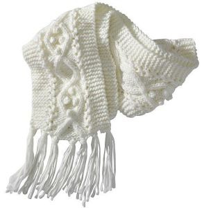 Winter Comfortable Warm Knit Scarf (FB-90518) pictures & photos