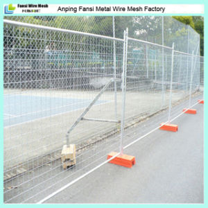 CE 2.1mx2.4m Hot Dipped Galvanized Au Temporary Fence pictures & photos