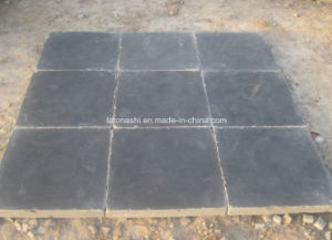 Tumbled Black Blue Stone Tile for Paving pictures & photos