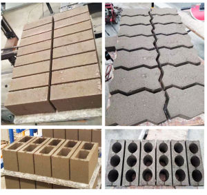 Manual Ecological Concrete Block Machine Qt4-24 pictures & photos