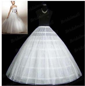 Ball Gown Discount Underskirt 6 Hoop Wedding Petticoat P-001 pictures & photos