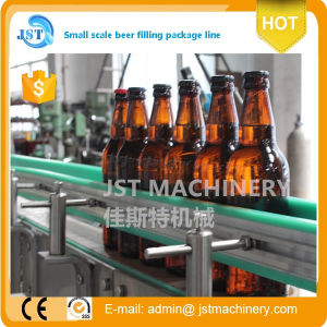 Automatic Glass Bottle Beer Filling Production Machine pictures & photos