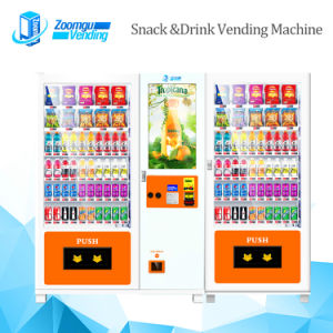 Combo Vending Machine with Advertising Screenn 10c+10RS (32SP) pictures & photos